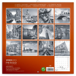 Poznámkový kalendář Benátky 2019, 30 x 30 cm