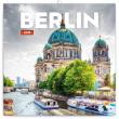 Poznámkový kalendář Berlín 2019, 30 x 30 cm