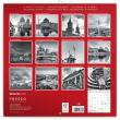 Poznámkový kalendář Berlín 2020, 30 × 30 cm