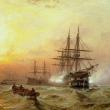 Poznámkový kalendář Bitevní lodě 2022, 30 × 30 cm