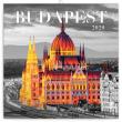 Poznámkový kalendář Budapešť 2020, 30 × 30 cm
