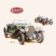 Poznámkový kalendář Classic Cars – Václav Zapadlík, 2020, 30 × 30 cm