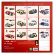 Poznámkový kalendář Classic Cars – Václav Zapadlík, 2021, 30 × 30 cm