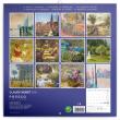 Poznámkový kalendář Claude Monet 2021, 30 × 30 cm