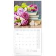 Poznámkový kalendář Design in Living 2020, 30 × 30 cm
