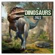 Poznámkový kalendář Dinosauři 2022, 30 × 30 cm