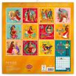 Poznámkový kalendář Elena Z Avaloru 2018, 30 x 30 cm