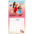 Poznámkový kalendář Elena z Avaloru 2019, 30 x 30 cm