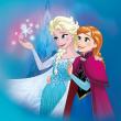 Poznámkový kalendář Frozen – Ledové království 2018, se samolepkami, 30 x 30 cm