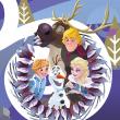 Poznámkový kalendář Frozen – Ledové království 2020, s 50 samolepkami, 30 × 30 cm