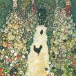 Poznámkový kalendář Gustav Klimt mini 2020, 18 × 18 cm