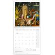 Grid calendar Hieronymus Bosch 2020, 30 × 30 cm