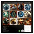 Poznámkový kalendář Hobbit 2019, 30 x 30 cm
