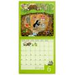 Poznámkový kalendář Krteček 2018, 30 x 30 cm
