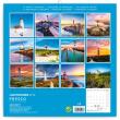 Poznámkový kalendář Majáky 2019, 30 x 30 cm