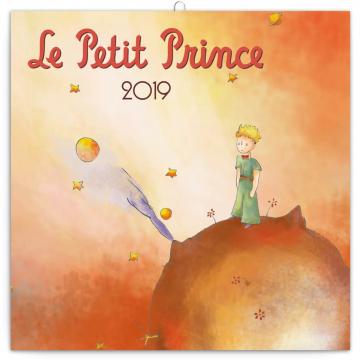 Poznámkový kalendář Malý princ 2019, 30 x 30 cm