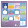 Poznámkový kalendář Malý princ 2020, 30 × 30 cm