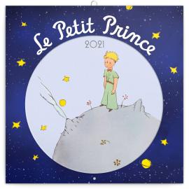 Grid calendar Le Petit Prince 2021, 30 × 30 cm