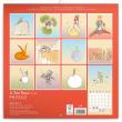 Poznámkový kalendář Malý princ (Le Petit Prince) 2018, 30 x 30 cm