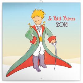 Grid calendar Le Petit Prince 2018, 30 x 30 cm