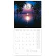 Poznámkový kalendář Měsíc 2021, 30 × 30 cm