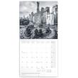 Poznámkový kalendář New York 2019, 30 x 30 cm