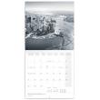 Poznámkový kalendář New York 2021, 30 × 30 cm