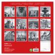 Poznámkový kalendář Paříž 2019, 30 x 30 cm