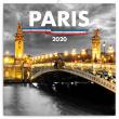 Poznámkový kalendář Paříž 2020, 30 × 30 cm