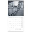 Poznámkový kalendář Paříž 2021, 30 × 30 cm