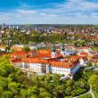 Poznámkový kalendář Praha nostalgická 2020, 30 × 30 cm