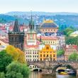 Poznámkový kalendář Praha nostalgická 2021, 30 × 30 cm