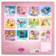 Poznámkový kalendář Princezny 2018, 30 x 30 cm