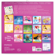 Poznámkový kalendář Princezny 2020, s 50 samolepkami, 30 × 30 cm