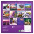 Poznámkový kalendář Provence 2021, voňavý, 30 × 30 cm