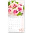Poznámkový kalendář Růže 2020, voňavý, 30 × 30 cm