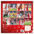 Poznámkový kalendář SK Slavia Praha 2019, 30 x 30 cm