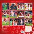 Poznámkový kalendář SK Slavia Praha 2020, 30 × 30 cm
