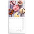 Poznámkový kalendář Sladkosti 2019, 30 x 30 cm
