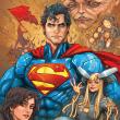 Poznámkový kalendář Superman 2018, 30 x 30 cm