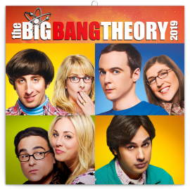 Grid calendar Bing bang Theory 2019, 30 x 30 cm