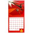 Poznámkový kalendář Úžasňákovi 2 2019, 30 x 30 cm