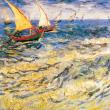 Poznámkový kalendář Vincent van Gogh 2020, 30 × 30 cm