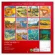 Poznámkový kalendář Vincent van Gogh 2021, 30 × 30 cm