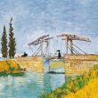 Poznámkový kalendář Vincent van Gogh 2022, 30 × 30 cm