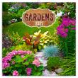 Poznámkový kalendář Zahrady 2021, 30 × 30 cm