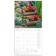 Poznámkový kalendář Zahrady 2022, 30 × 30 cm