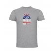 Prague Darts Masters dětské tričko, šedý melír