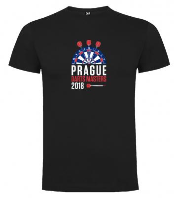 Prague Darts Masters pánské tričko, černé
