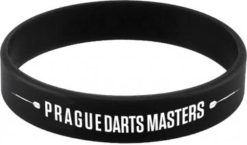 Prague Darts Masters silikonový náramek